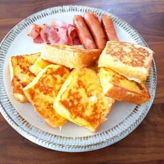ごはん/おやつレシピ/おやつタイム/レシピ/食パン/朝食/... こんにちは🙋初投稿です! これから暮らし…