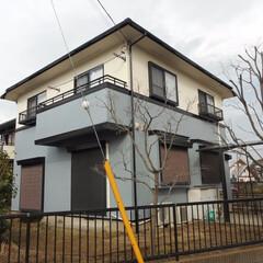 外壁塗装/屋根塗装/シリコン/つやあり/八王子市/府中市/... 屋根・外壁ともに艶ありシリコン塗料での塗…