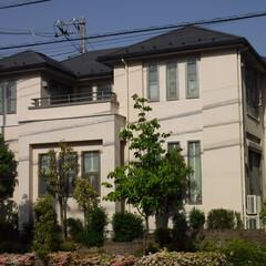 施工例/フッ素/外壁/塗装/配色/屋根/... 小金井市S様邸の施工後写真です。  外壁…