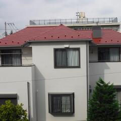 外壁塗装/屋根塗装/遮熱塗料/遮熱/塗装工事/スレート/... 外壁には関西ペイントの高耐久シリコン。屋…
