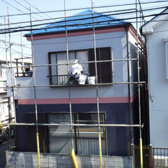 外壁塗装/屋根塗装/武蔵野市/遮熱/遮熱塗料/色分け/... 武蔵野市S様邸塗装工事施工後の写真になり…