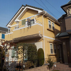 外壁塗装/シリコン塗料/瓦/塗装工事/杉並区/府中市/... 外壁塗料はジョリパッドフレッシュを使用し…