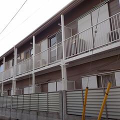 アパート/外壁塗装/屋根塗装/鉄部塗装/鉄骨階段/キーストン/...