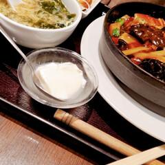 中華/ランチ/おでかけ/はらぺこグルメ 泉のタピオで中華ランチ。 白担々麺、コク…(2枚目)