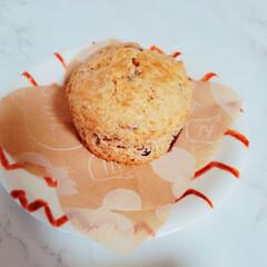 あずき/マフィン/おやつ/簡単/おうちカフェ 本日のおやつ♪ 小豆マフィンを作りました😊