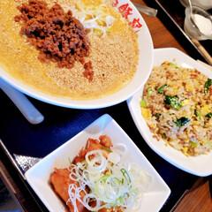 中華/ランチ/おでかけ/はらぺこグルメ 泉のタピオで中華ランチ。 白担々麺、コク…(1枚目)