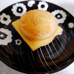 コップ/オーロラグラス/グラス/スイーツ/クッキー/ミーツ/... とある日のおやつ🎵 マイキャプテンチーズ…(2枚目)