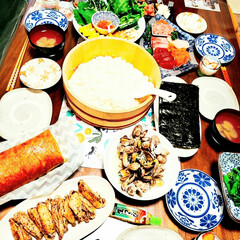 ムース/マシュマロ/ロールケーキ/手巻き寿司パーティー/ひな祭り/ピンク/... ひな祭りパーティー☆ 子供の、リクエスト…