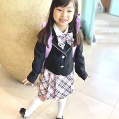 子ども/入学式/フォロー大歓迎/一年生 今日からピカピカの一年生になりました! …