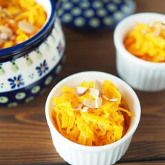 コリンキー/かぼちゃ/野菜の日/マイベスト野菜/パンプキンラペ パンプキンラペ  生でも食べられるかぼち…