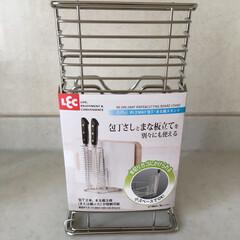 キッチン雑貨 包丁を洗って乾燥させる際、刃がむきだしで…
