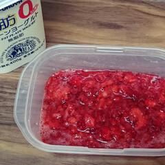 もったいない/ジャム作り/フードロス/イチゴ 激安価格につられて買ったイチゴがすっぱか…
