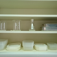 カップボード/食器棚/キッチン/収納/片づけ/整理/... 花粉症の薬を飲み忘れないようにシンク横に…