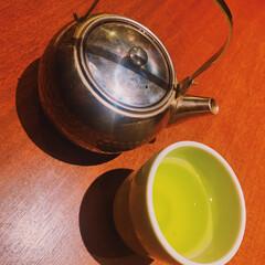 ランチ/お茶/暮らし あたたかいお茶がうまい^_^