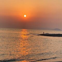 海/シーグラス 今日、夕方から日が沈むまで 海に行って来…(3枚目)
