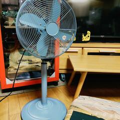 ノスタルジック/金属製 扇風機/アンティーク/リビング/扇風機/扇風機リビング ほぼほぼ金属製 扇風機✨(≧∀≦)💕  …