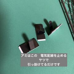 アイアンペイント アイアンブラック(その他塗料、塗装剤)を使ったクチコミ「前に投稿した テレビ台兼作業机!  ベー…」(6枚目)