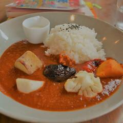 野菜/ゴロゴロ/カレー/プレート/カフェランチ/はらぺこグルメ 野菜ゴロゴロカレープレート