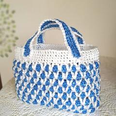 編み物/ハンドメイド/100均 去年、ダイソーで買ったビニール紐。 ほっ…