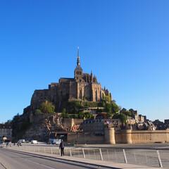 モンサンミッシェル/フランス/はじめてフォト投稿 Mont-Saint-Michel