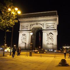 パリ/はじめてフォト投稿 凱旋門
