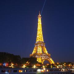 パリ/エッフェル塔/はじめてフォト投稿 エッフェル塔 ライトアップver
