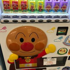 アンパンマン/自販機/はじめてフォト投稿 アンパンマンの自販機には惹かれるw