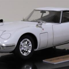 模型/カーモデル/ハセガワ/はじめてフォト投稿 ハセガワ 1/24 トヨタ 2000GT