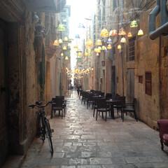 マルタ/ヨーロッパ/はじめてフォト投稿 ちょっとした小道もステキな首都の街並み