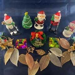 #クリスマス/#クリスマスツリー/#ダイソー/#キャンドゥ/#サンタクロース/クリスマス/... サンタクロースと友人達のパーティーです。…