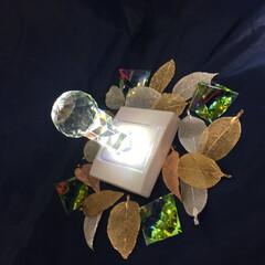 クリスタル/照明/プチプラ照明/プチプラ照明見つけた! 組み合わせて綺麗にできたので撮りました。