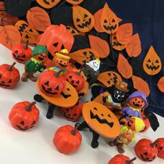 かぼちゃ/ハロウィン/100均deハロウィン とりっくおあとりーと