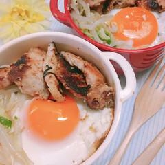 こんがりグルメ ある日のお弁当♡豚肉の味噌漬け焼き♡