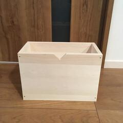釘仕様/軽量/ファルカタ材/整理/DIY/収納 木箱DIY 収納棚整理用