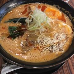 ラーメン/担々麺/グルメ/はじめてフォト投稿 お気に入りの濃厚担々麺