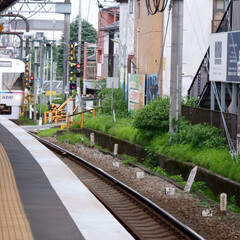京王井の頭線/電車/乗り物 京王井の頭線の電車を撮りました。