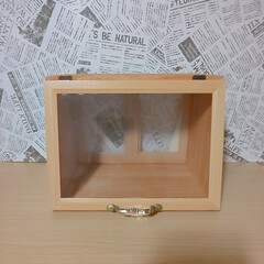 DIY/100均/ReFine/ブレッドケース/塗装 ~ブレッドケースDIY~  ホームセンタ…
