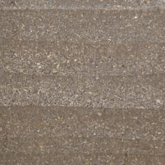 版築/蓄熱壁 みらいのいえ 版築壁の表情・・・土を突き…