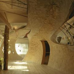 土壁/リノベーション 神田SU ビルの中の土壁の家
