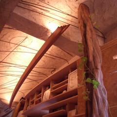 間接照明/土壁/リノベーション 神田SU/nest -ビルの中の土壁の家…