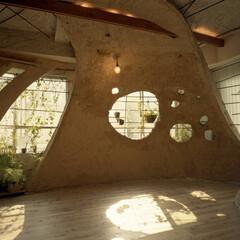 土壁/リノベーション 神田SU/nest -ビルの中の土壁の家-