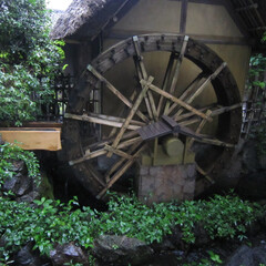 みんなにおすすめ 東京都調布市深大寺の深大寺水車館の水車で…