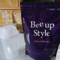 Bee up Style Chocolate風味 | Bee up Style(ソイプロテイン)を使ったクチコミ「モニターキャンペーンで当選した『Bee …」