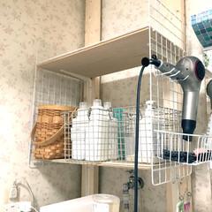 ミューズ自動泡石鹸/吊り下げ収納/ティッシュケース/詰替ボトル/洗剤収納/ドライヤー収納/...