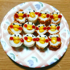 料理/おかず 【お子さんのお弁当に!可愛いヒヨコちゃん…