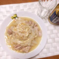 もやしレモン/サラダコスモ/PR 鶏肉・玉ねぎ・生姜すりおろしと塩少々を炒…(1枚目)