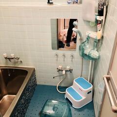 浴室リフォーム/お風呂場/Amazon/バス/ダイソー/セリア/... 新しい綺麗なお風呂場の投稿を見ながら羨ま…(1枚目)
