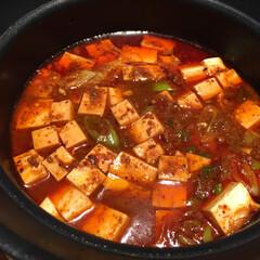 わたしのごはん。/しあわせご飯。/麻婆豆腐/レトルト/わたしのごはん しあわせご飯。 今日は麻婆豆腐。 お店で…