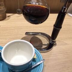 しあわせご飯。/わたしのご飯。/コーヒー/サイフォン/摩周湖/炭焼き/... しあわせご飯。 カフェで飲むコーヒーは、…