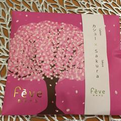小さい春/feve/自由が丘/桜/お菓子/パッケージ/... こんなところに春が! 桜の季節になると、…